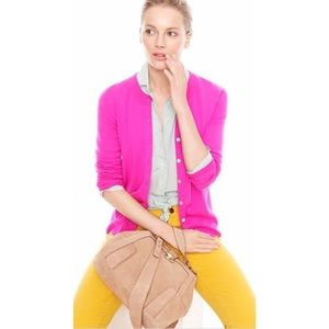 J Crew Pink The Tippi Cardigan